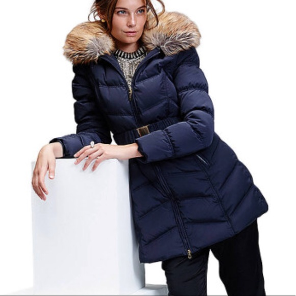 9e472941b767 Laundry By Shelli Segal Jackets   Blazers - Laundry Shelli Segal Navy Down  Puffer Parka Jacket